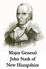 Major General John Stark of New Hampshire